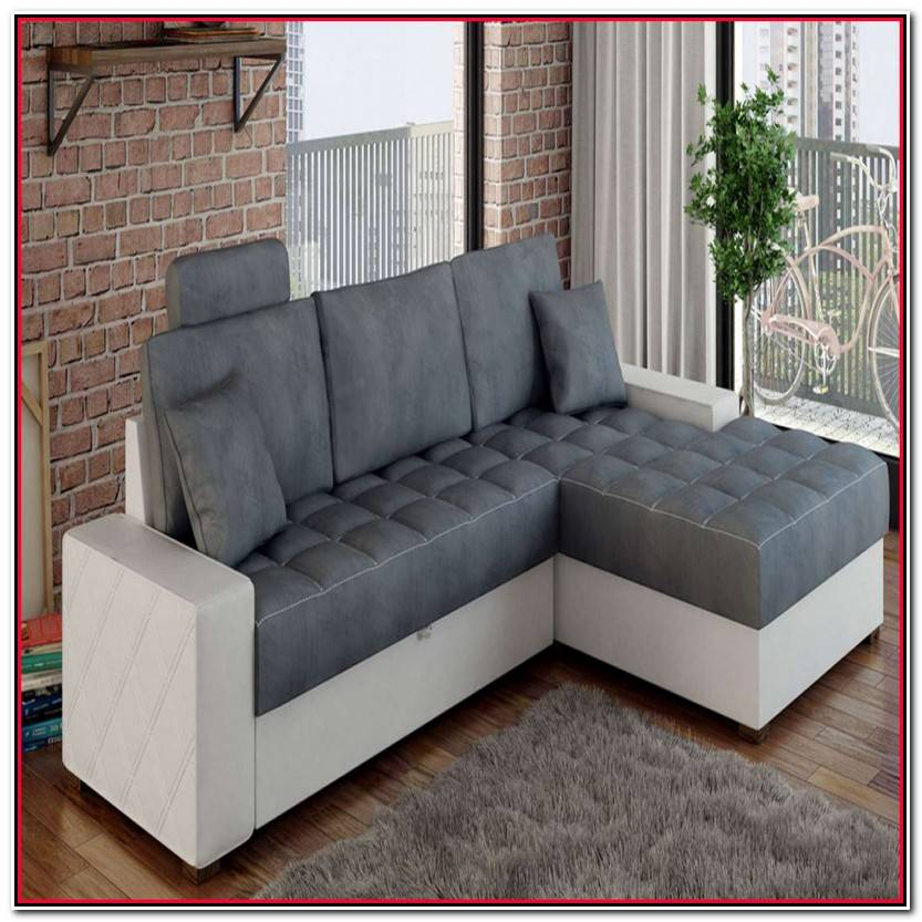 Elegante Sofas Chaise Longue Cama Fotos De Cama Decoración