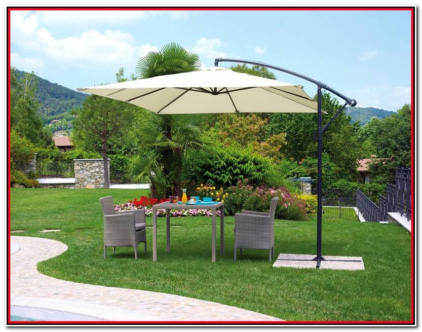 Elegante Sombrillas Jardin Imagen De Jardín Estilo