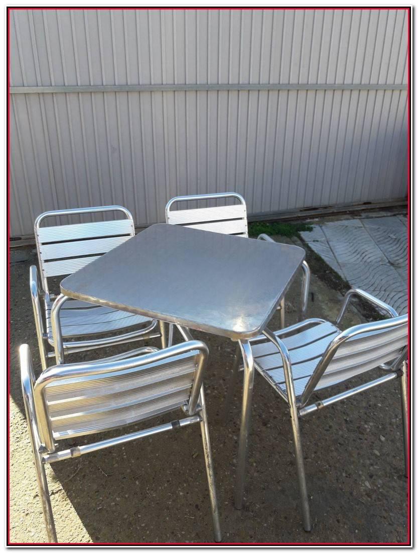 Elegante Vendo Mesas Y Sillas Para Terraza De Segunda Mano Fotos De Mesas Decorativo