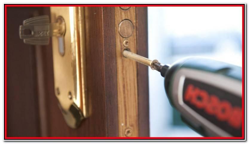 Encantador Bombin Puerta Blindada Colección De Puertas Accesorios