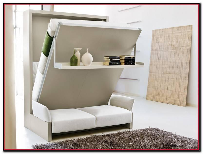 Encantador Camas Abatibles Con Sofa Imagen De Cama Decorativo