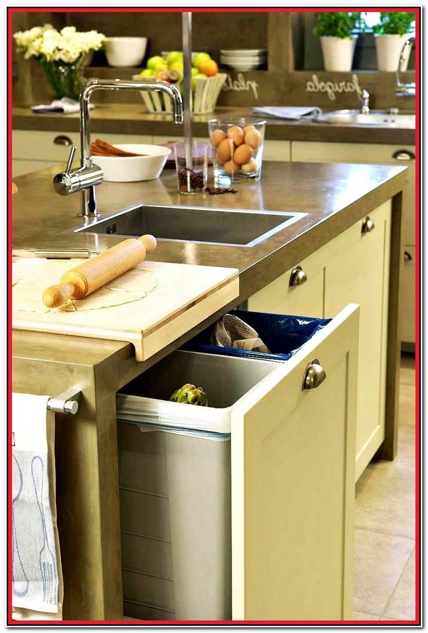 Encantador Cubo Basura Cocina Fotos De Cocinas Decorativo