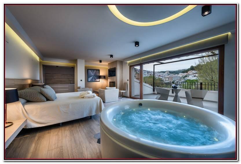 Encantador Habitaciones De Hotel Con Jacuzzi Colección De Habitaciones Decorativo