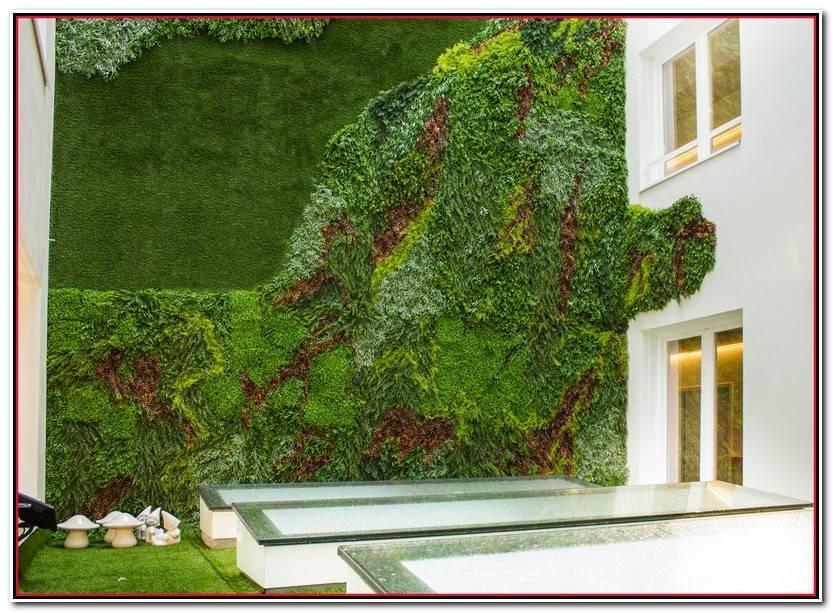 Encantador Jardin Vertical Interior Colección De Jardín Decoración