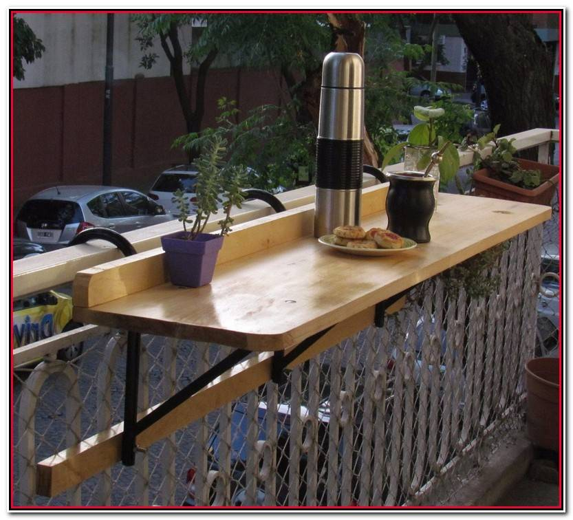 Encantador Mesa Balcon Colección De Mesas Decoración