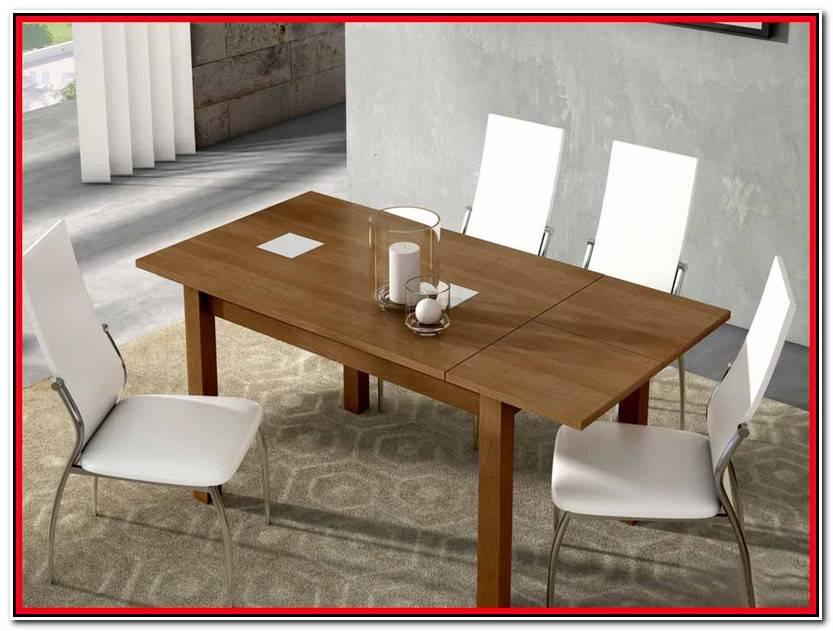 Encantador Mesa Extensible Color Cerezo Colección De Mesas Decoración