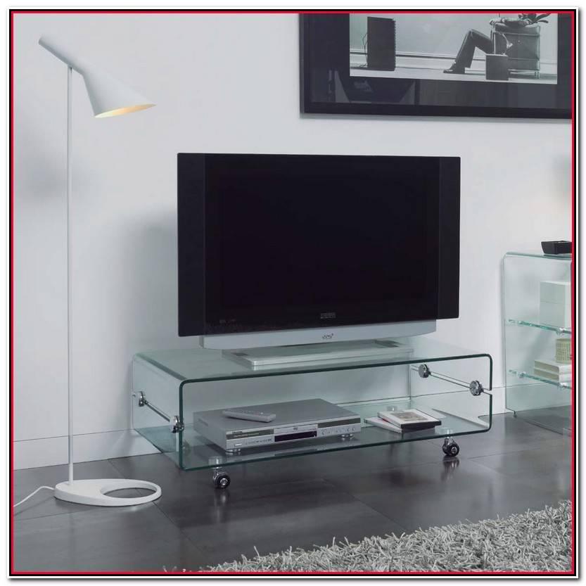 Encantador Mesa Tv Cristal Galería De Mesas Decoración