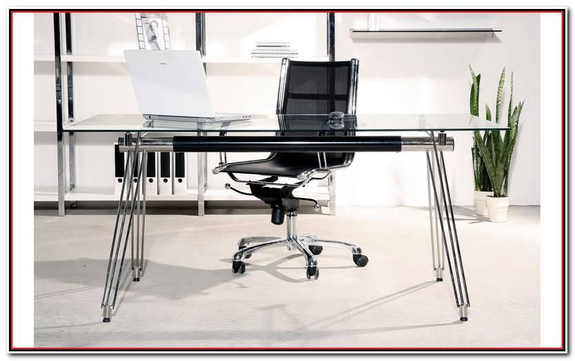 Encantador Mesas De Despacho De Cristal Fotos De Mesas Accesorios
