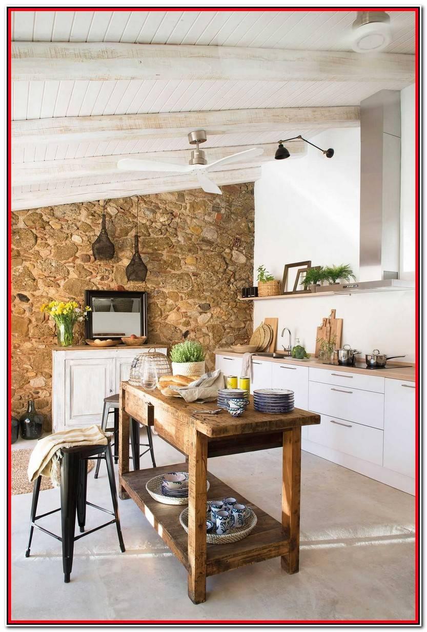 Encantador Mesas Rusticas De Madera Para Cocina Galería De Cocinas Decoración