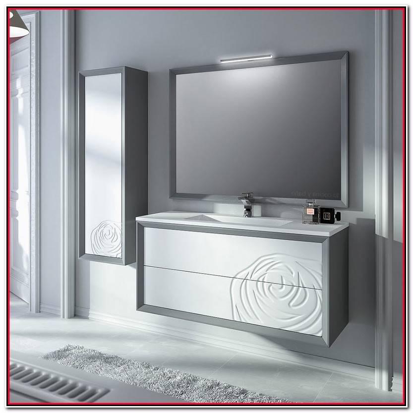 Encantador Mueble De Baño Suspendido Colección De Muebles Decoración