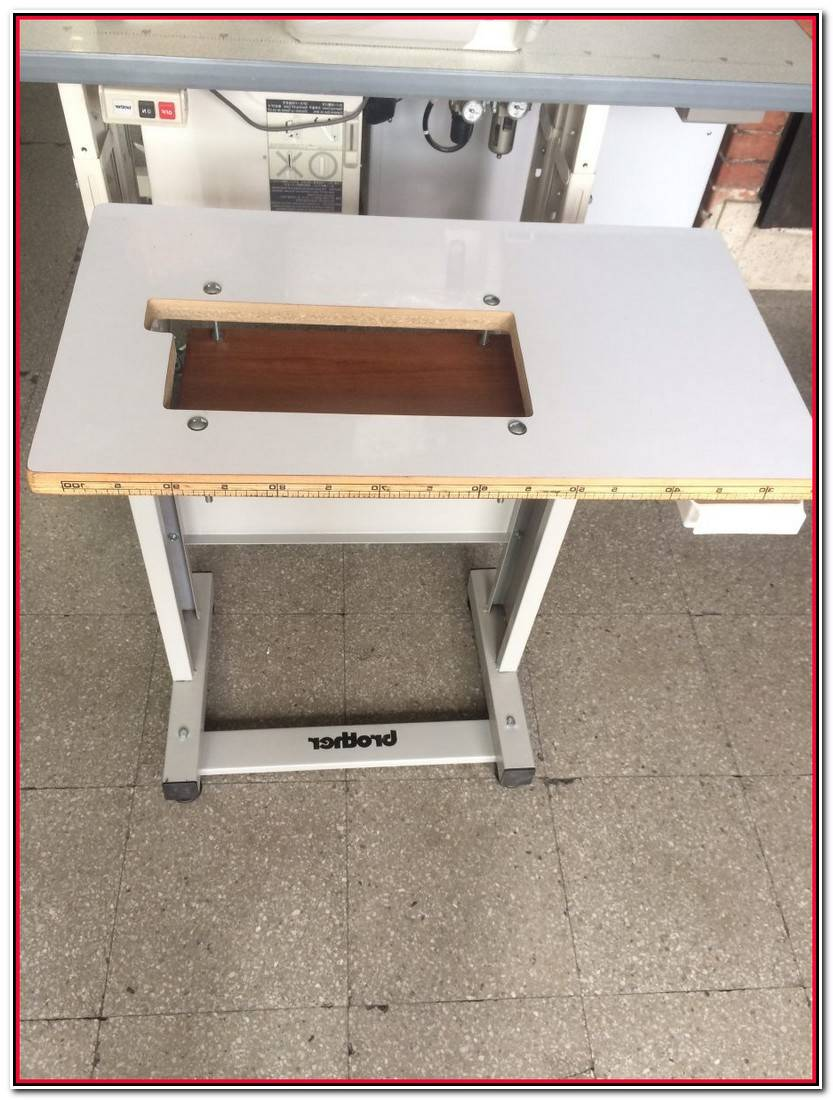 Encantador Mueble Para Maquina De Coser Colección De Muebles Idea