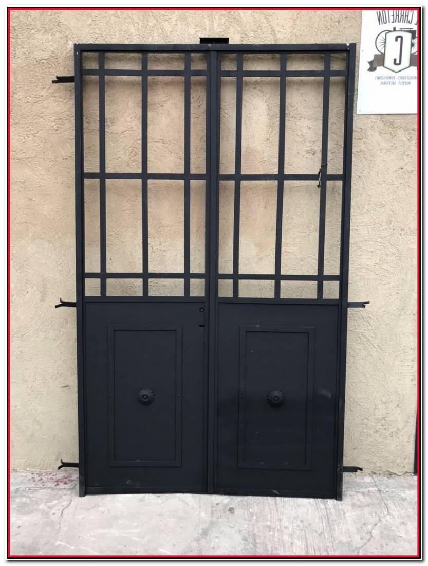 Encantador Puertas De Hierro Para Patios Galería De Puertas Decoración