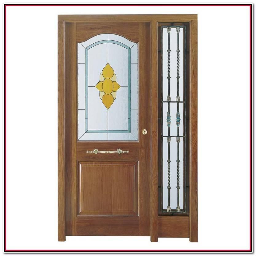 Encantador Puertas De Madera Con Cristal Fotos De Puertas Decorativo
