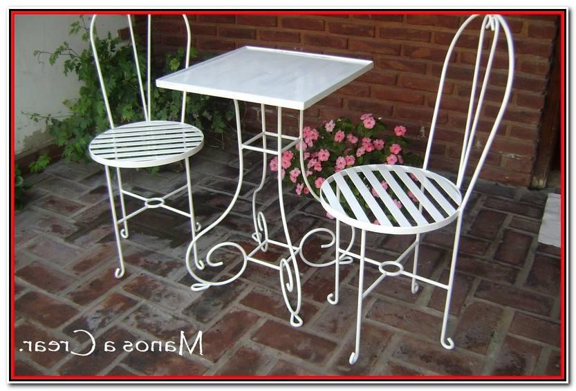 Encantador Sillas De Hierro Para Jardin Galería De Jardín Idea