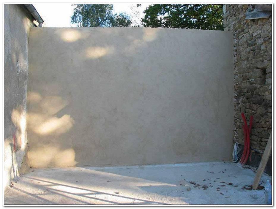 Enduire Un Mur De Parpaing Exterieur