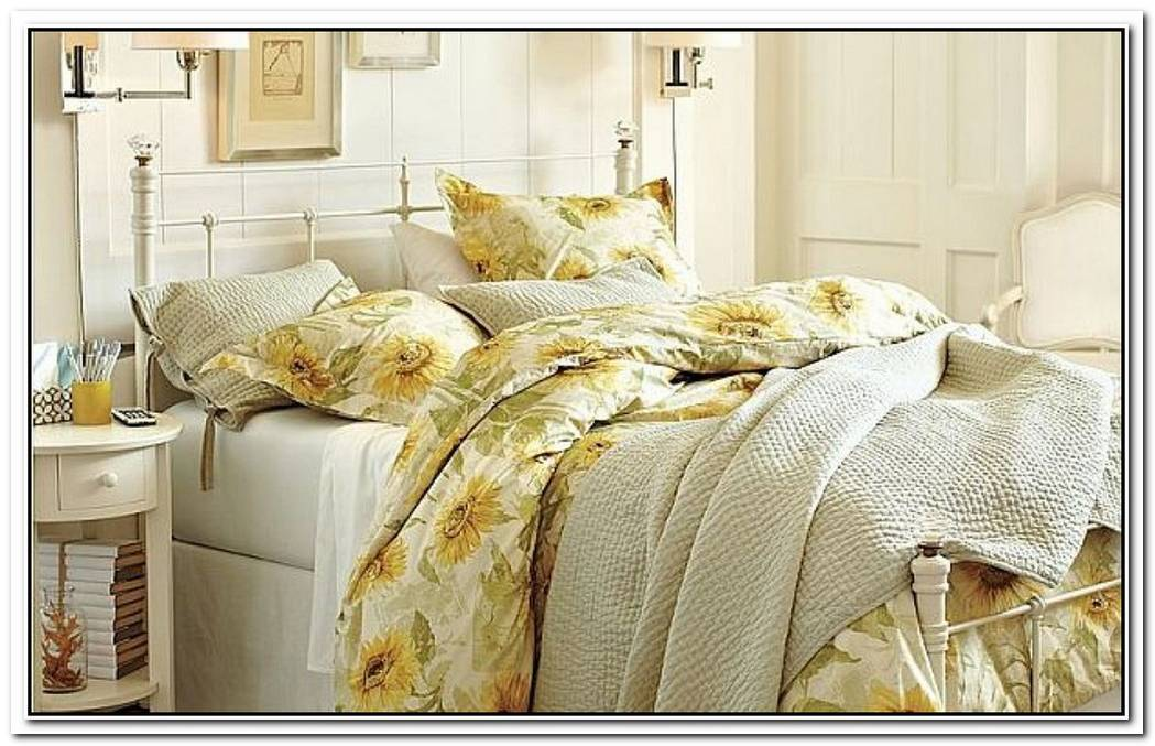 Energizing Sunflower Organic Duvet Cover And Sham