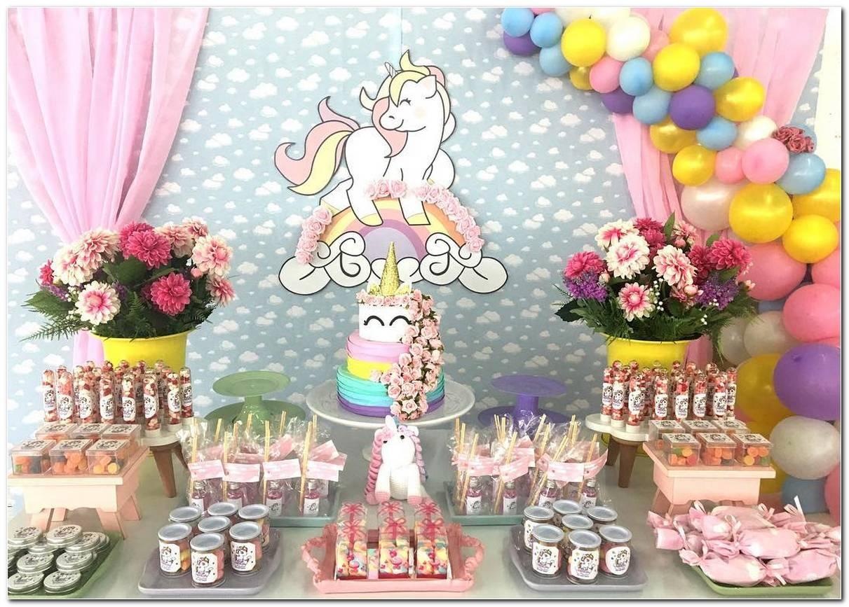 Enfeites De Unicornio Para Aniversario