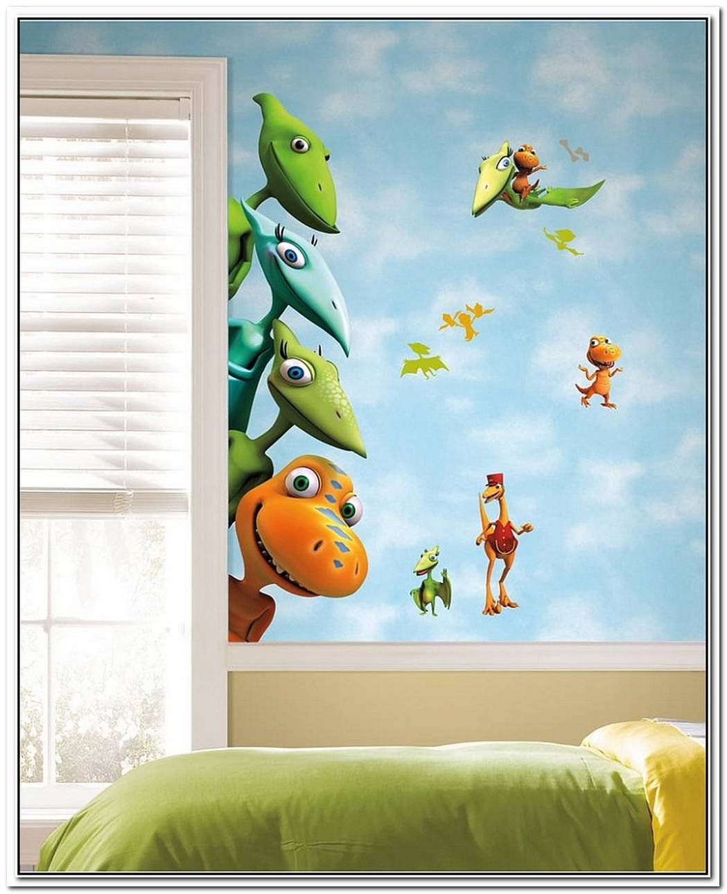 Enliven Your Kids' Bedroom With DinosaurThemed Wall Art And Murals