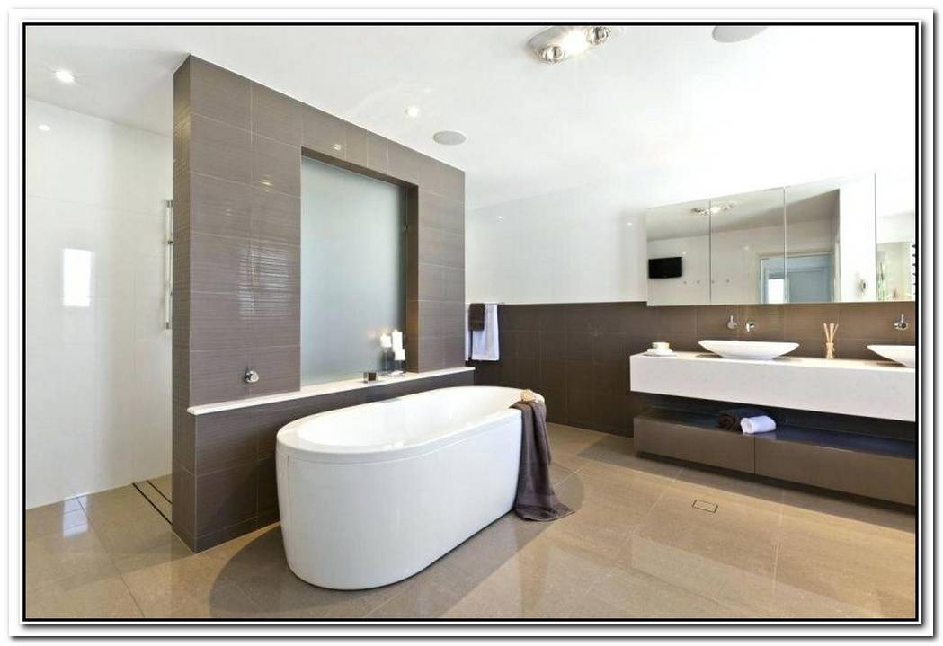 Ensuite Bathroom Modern Layout