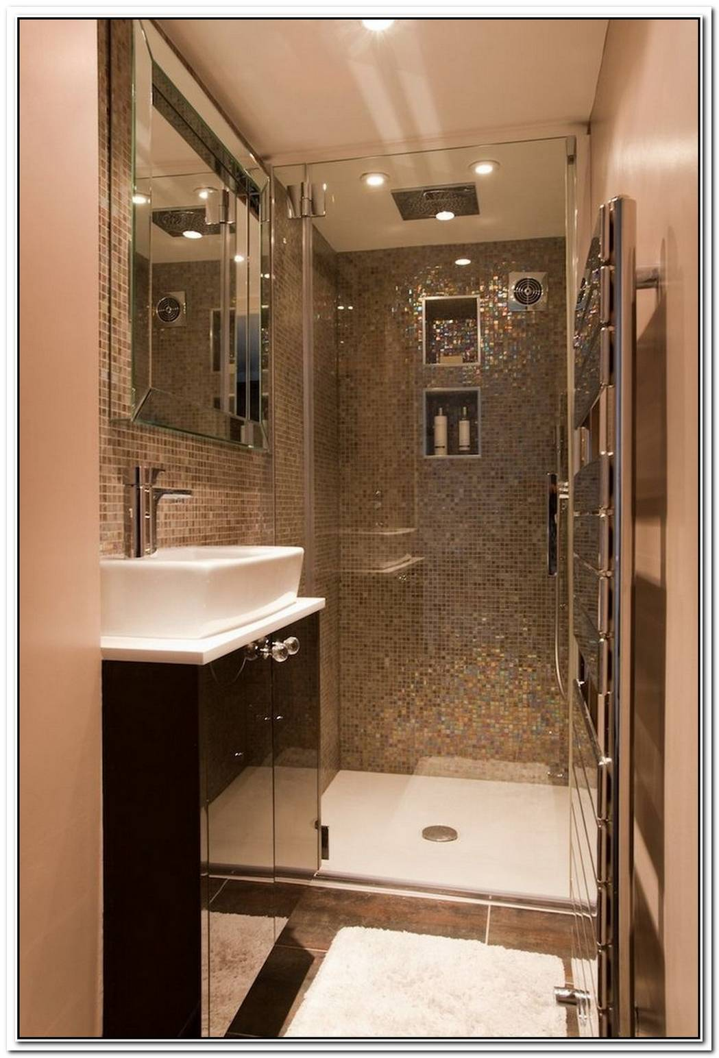 Ensuite Bathroom Small Space Tiny
