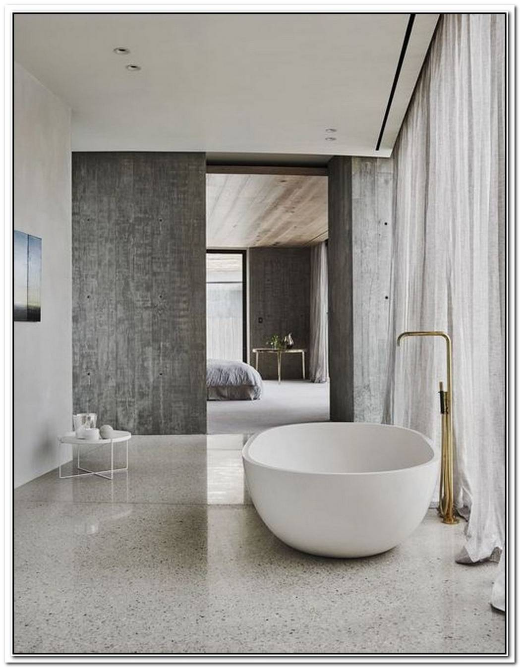 Ensuite Luxury Minimalist Bathroom
