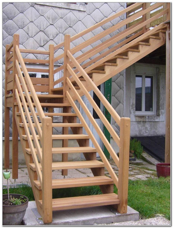 Escalier Bois Exterieur Kit