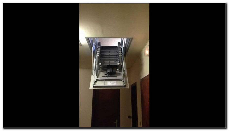 Escalier Escamotable Motorisé