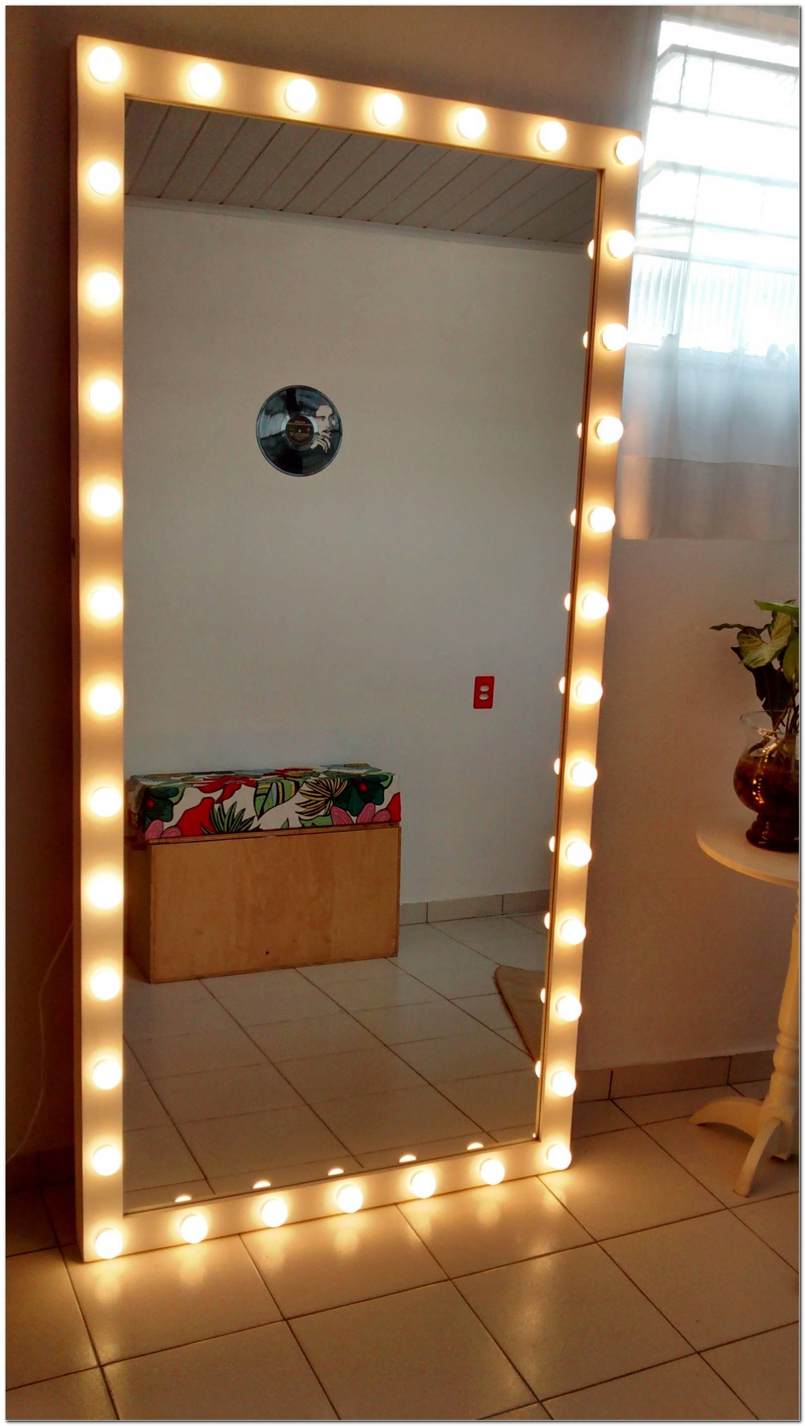 Espelho De Camarim Com Luzes
