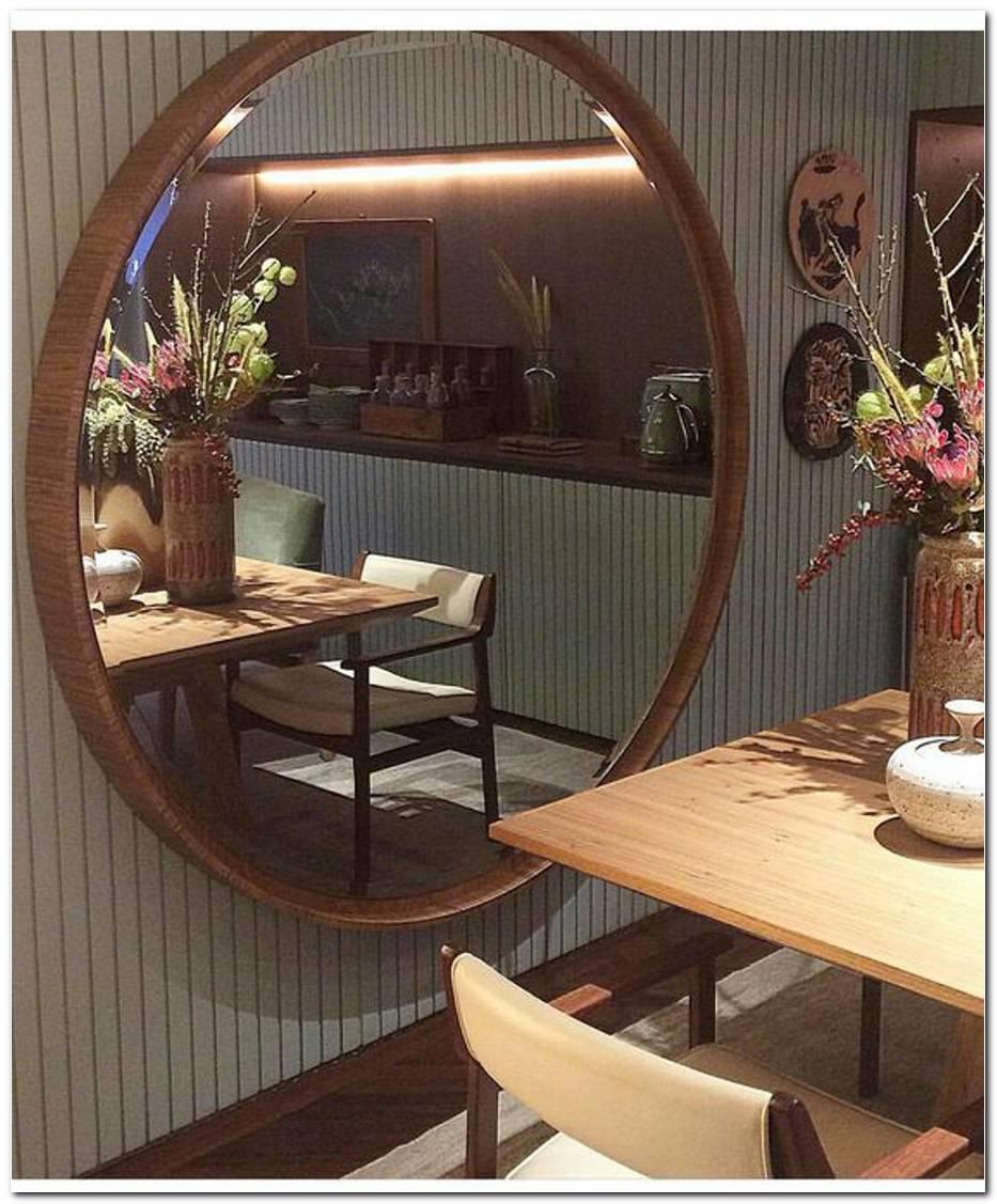 Espelho Redondo Saiba Como Usar Na Decoração Da Casa