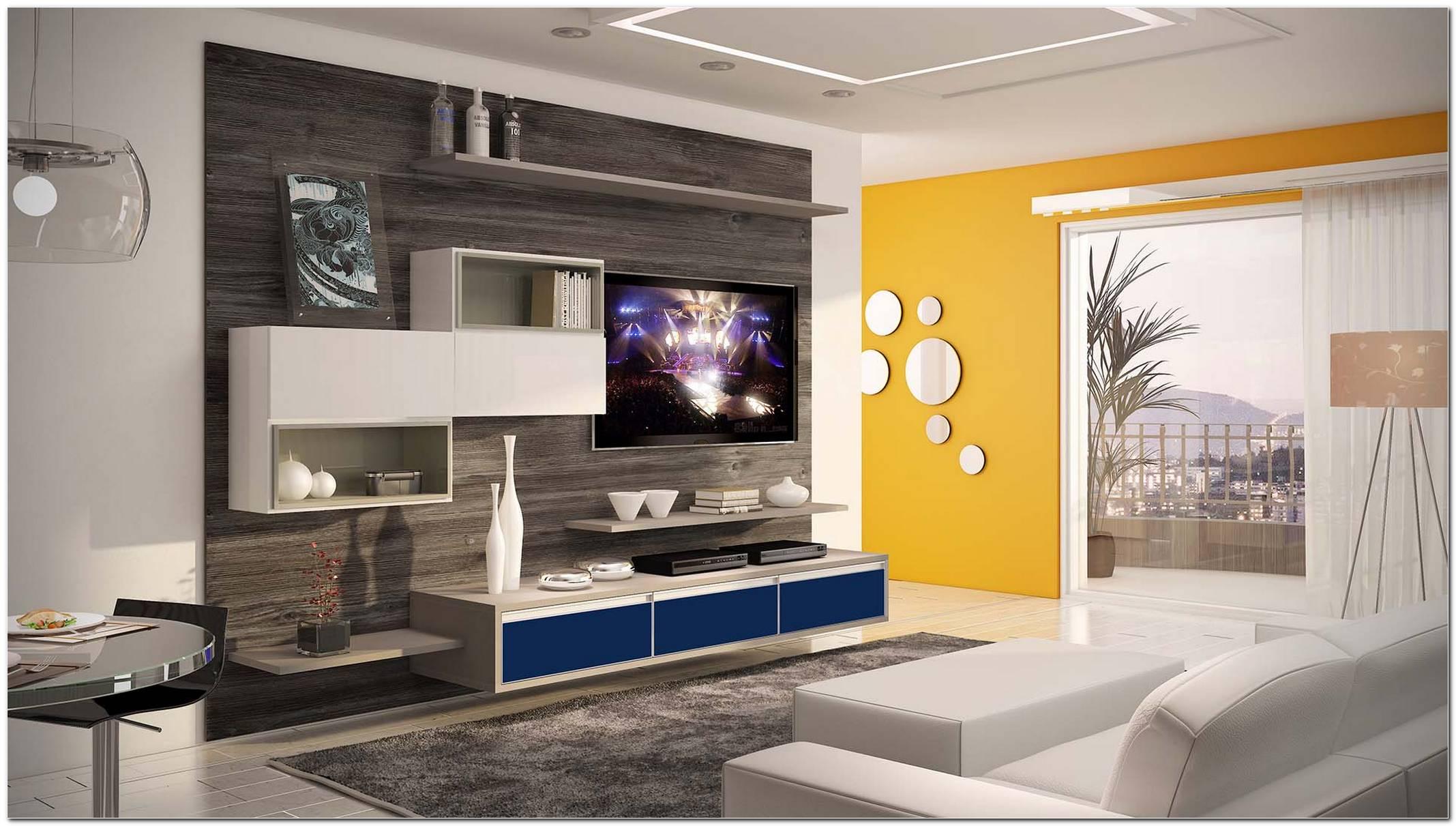 Estante Para Sala De Tv Planejada