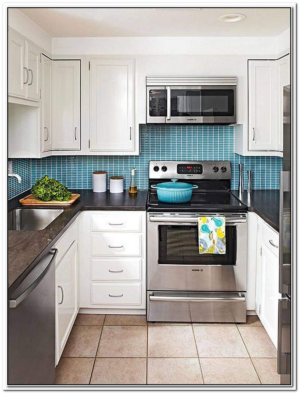 Every Kitchen Deserves A Pop Of Color Like This