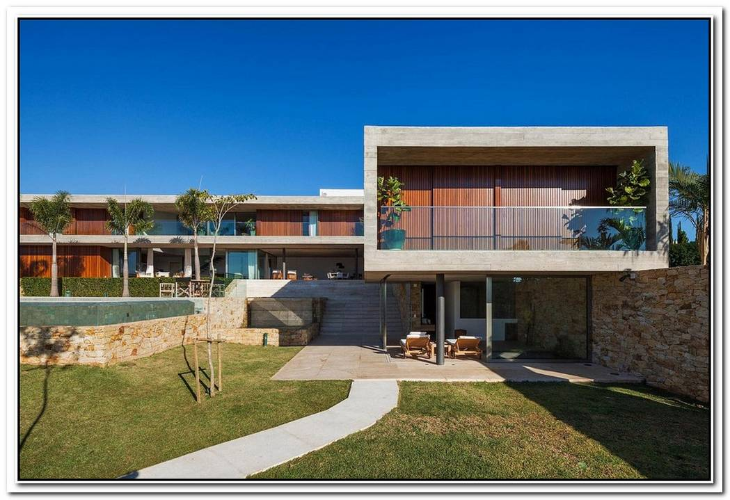 Expansive LivingMultiple Volumes Create A Breezy Brazilian Home