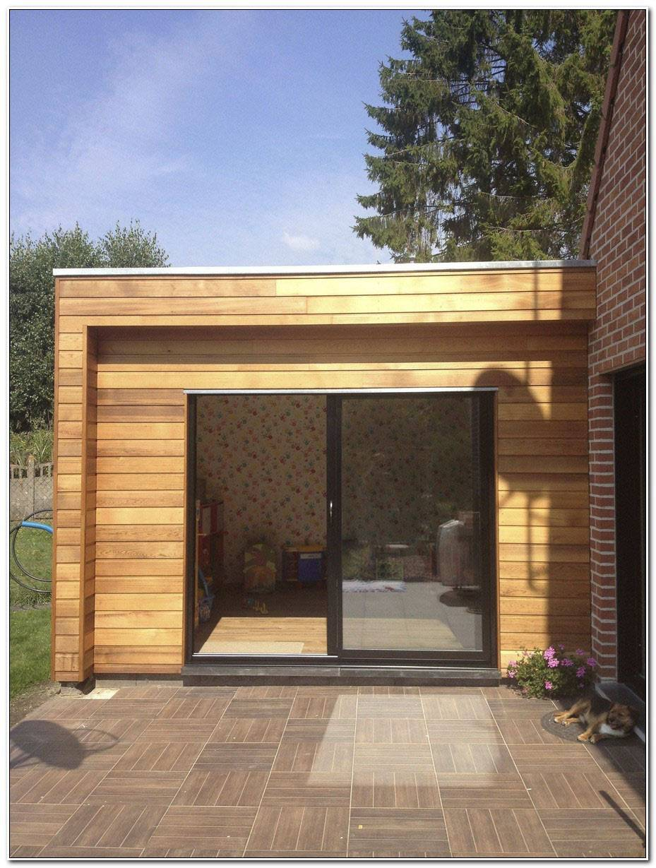 Extension Maison Bois 20m2