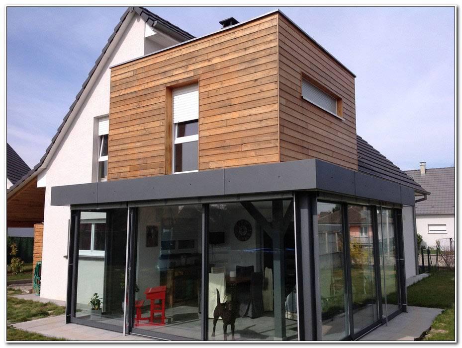 Extension Maison Moderne Bois