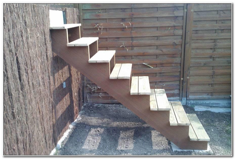 Fabriquer Escalier Bois Exterieur