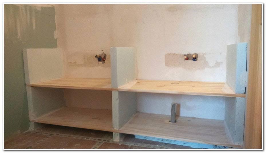 Fabriquer Meuble Salle De Bain Avec Plan De Travail