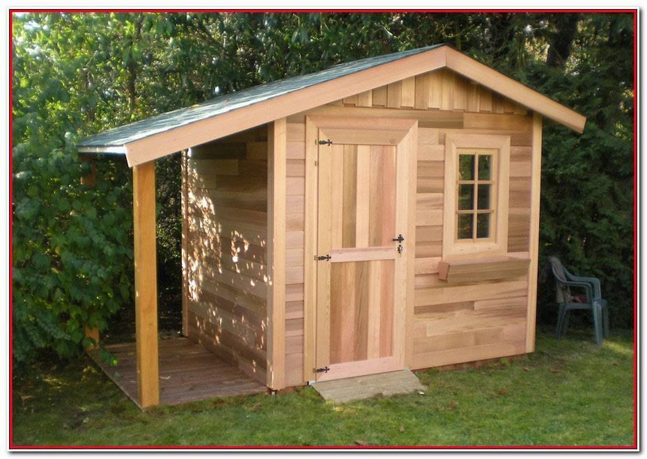 Fabriquer Une Cabane De Jardin