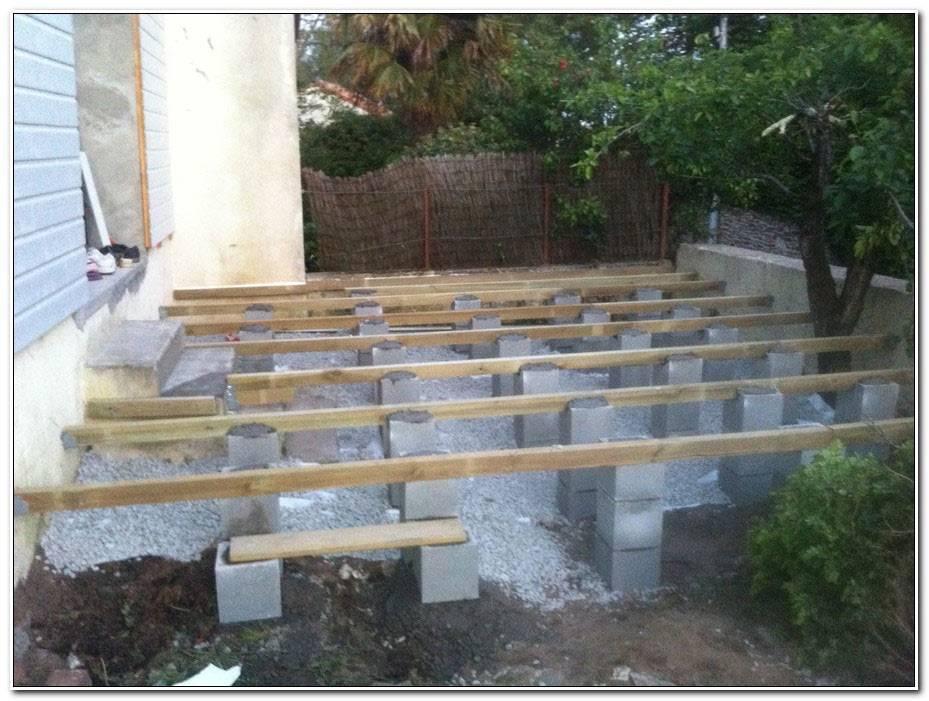 Fabriquer Une Terrasse En Bois Sur Pilotis