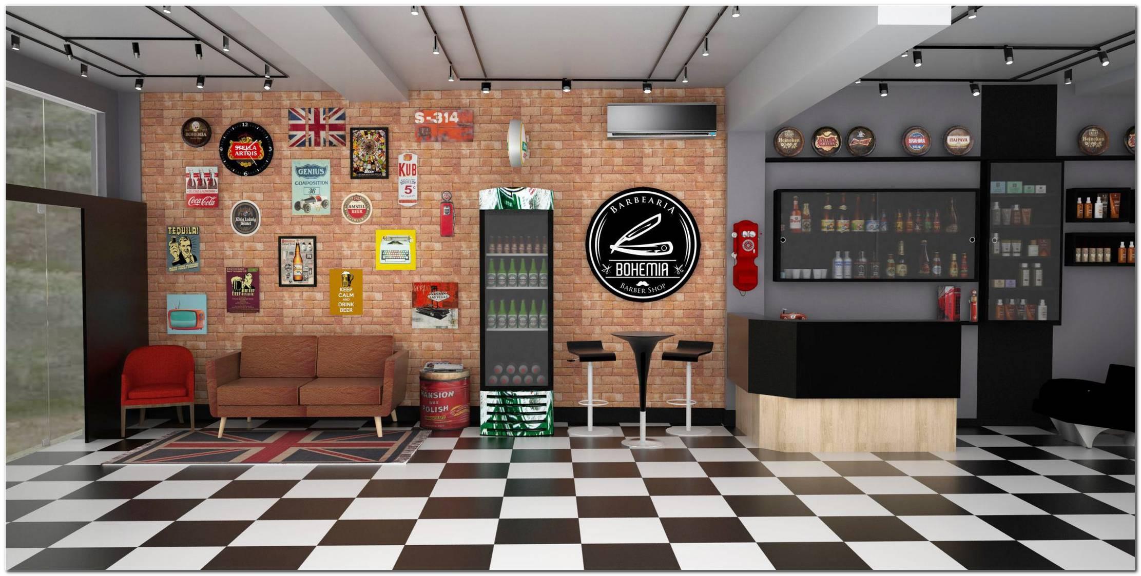 Fachada De Barbearia 50 Estilos Impecáveis Para Seu Estabelecimento