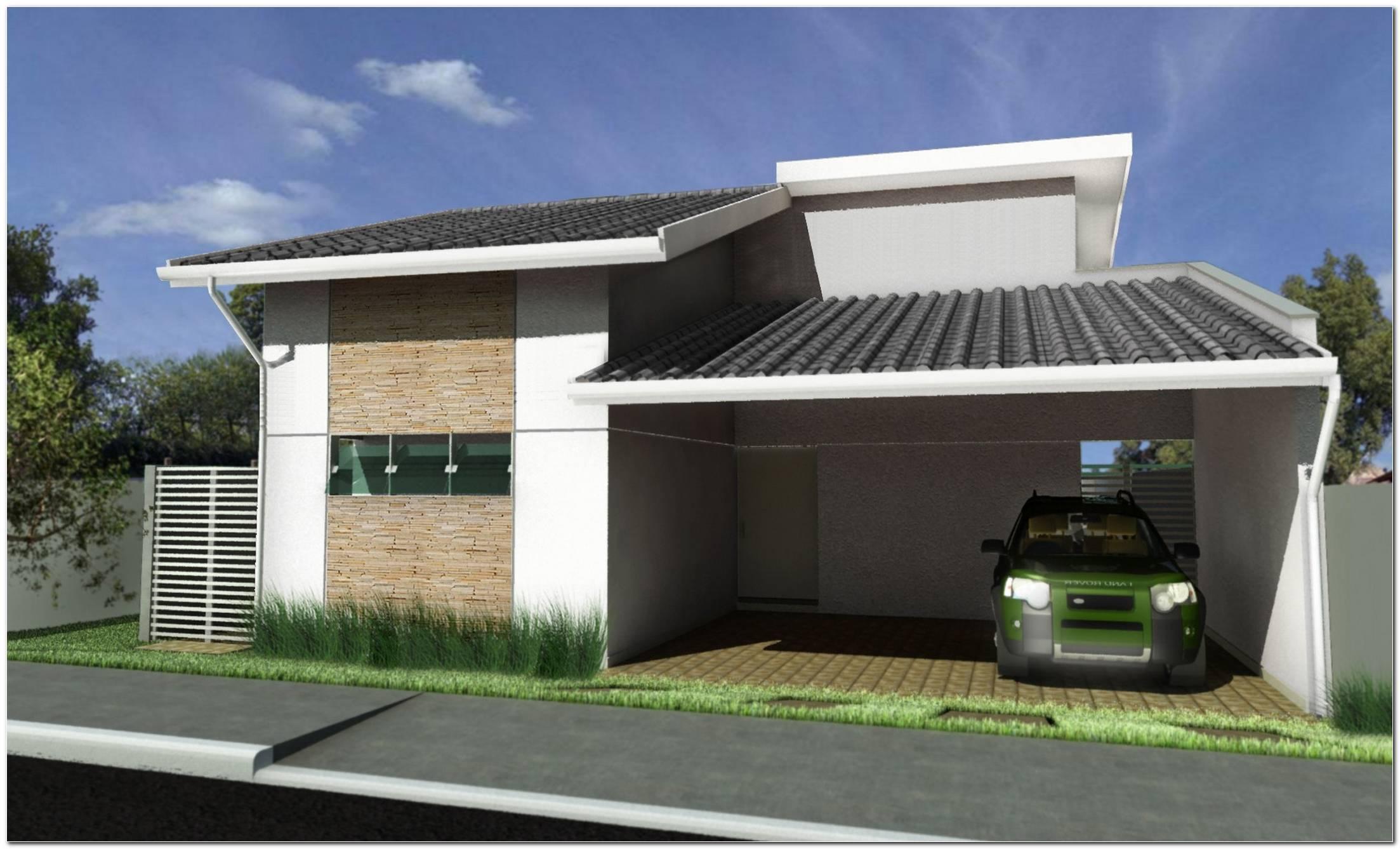 Fachadas De Casas Simples 50 Ideias Dicas E Projetos Incríveis