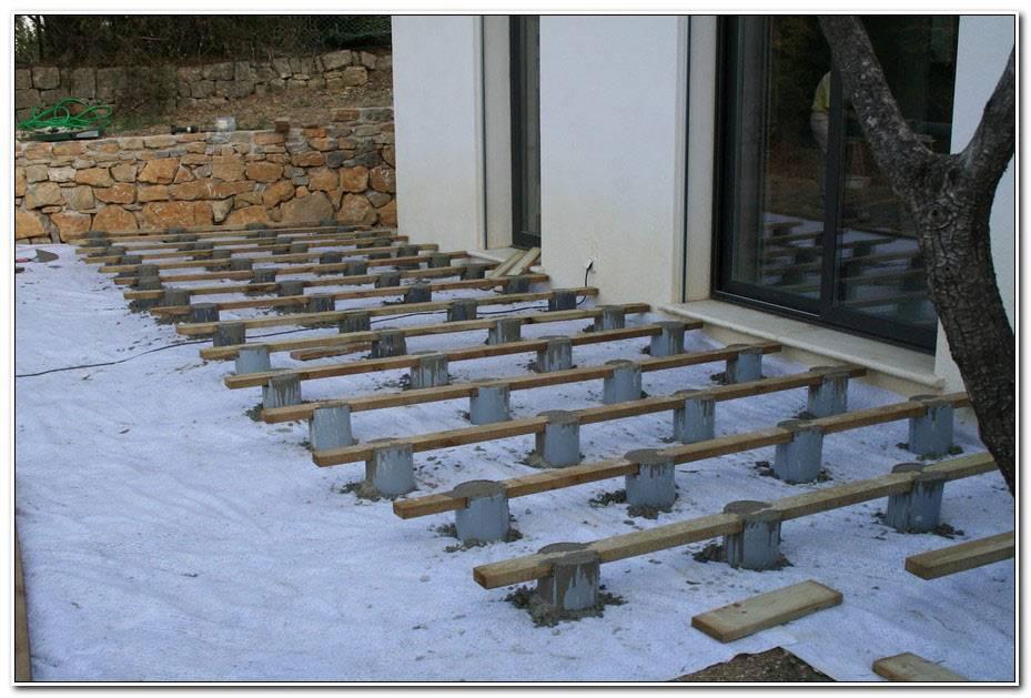 Faire Plot Beton Pour Terrasse Bois