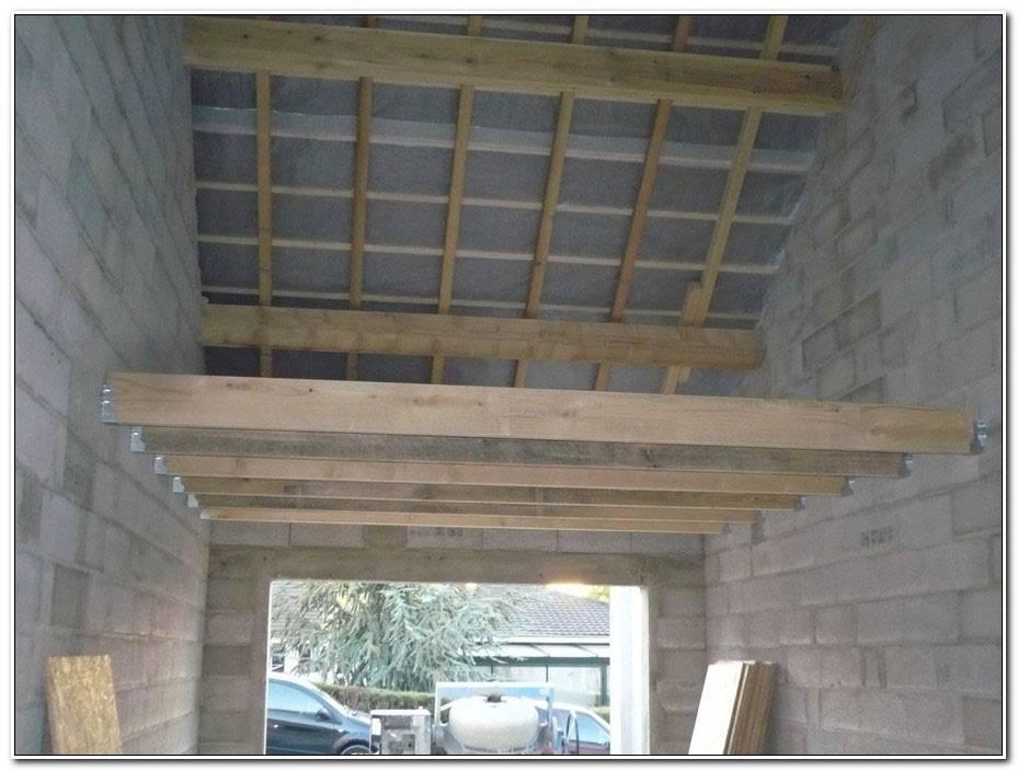 Faire Un Plafond Dans Un Garage