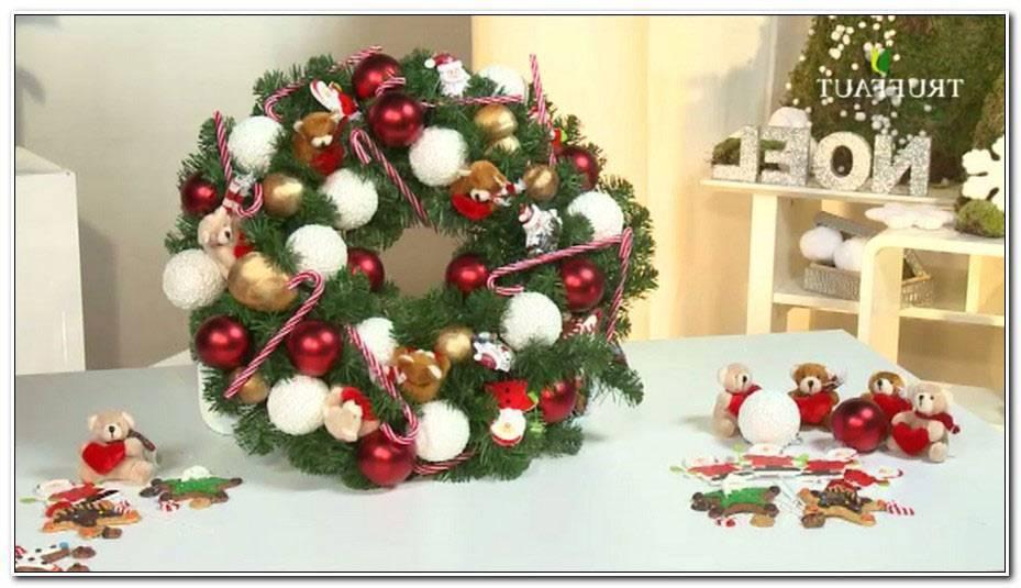 Faire Une Couronne De Noel