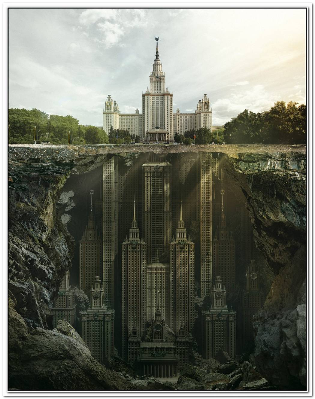 Fantastic Reimagination Of Iconic Russian Landmarks By Carioca Studio