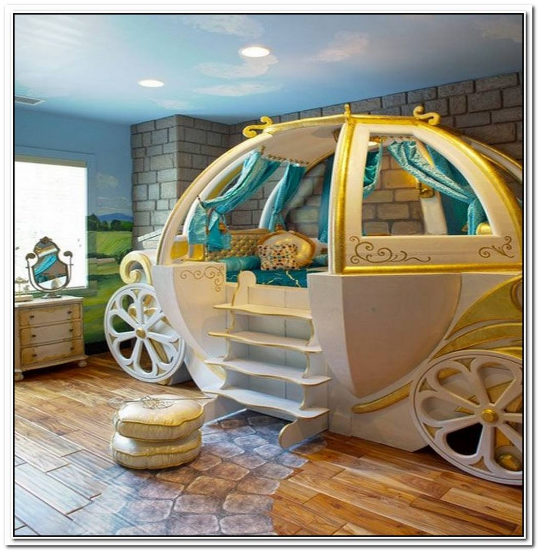 Fantasy Beds For KidsFrom Race Cars To Pumpkin Carriages