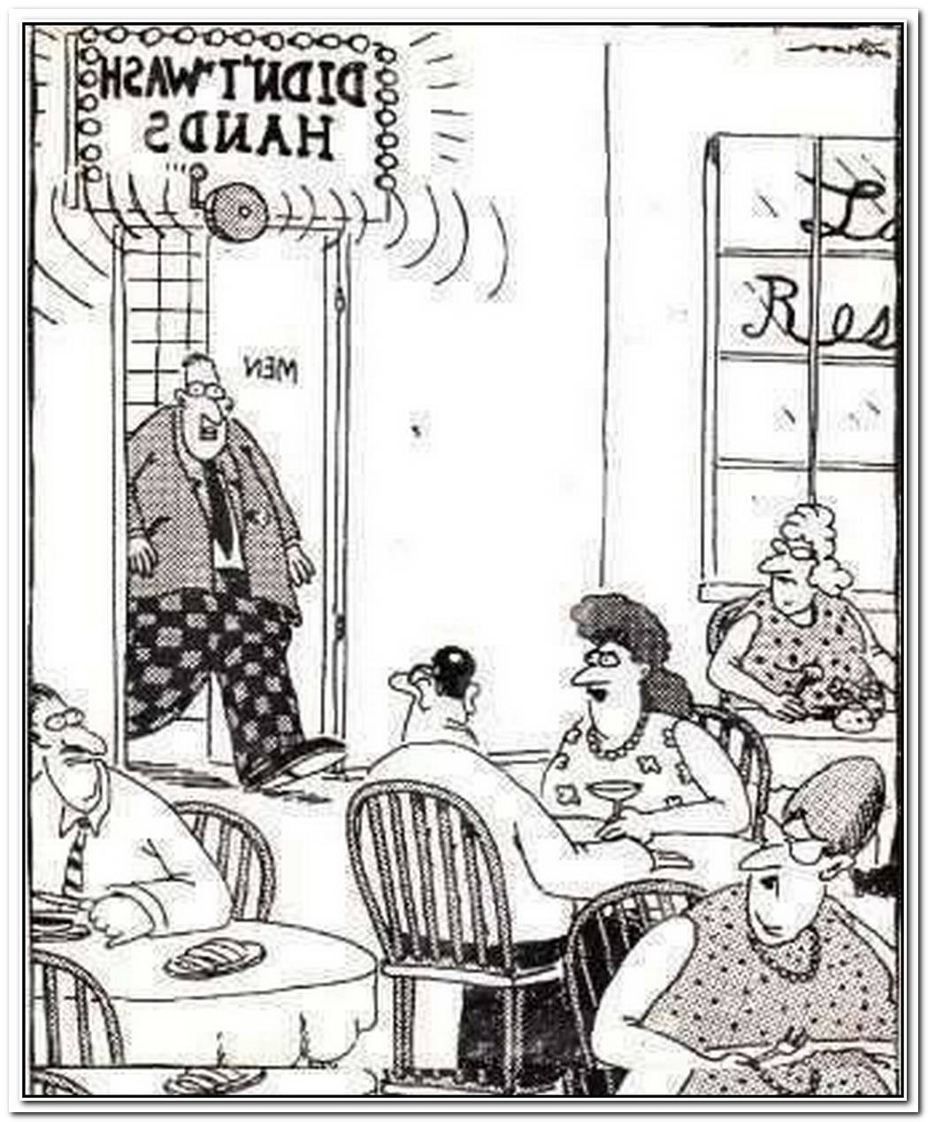 Far Side Cartoon Bathroom