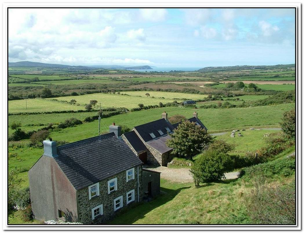 Farmhouse Surrounded By Beautiful Landscape And Wonderful Views