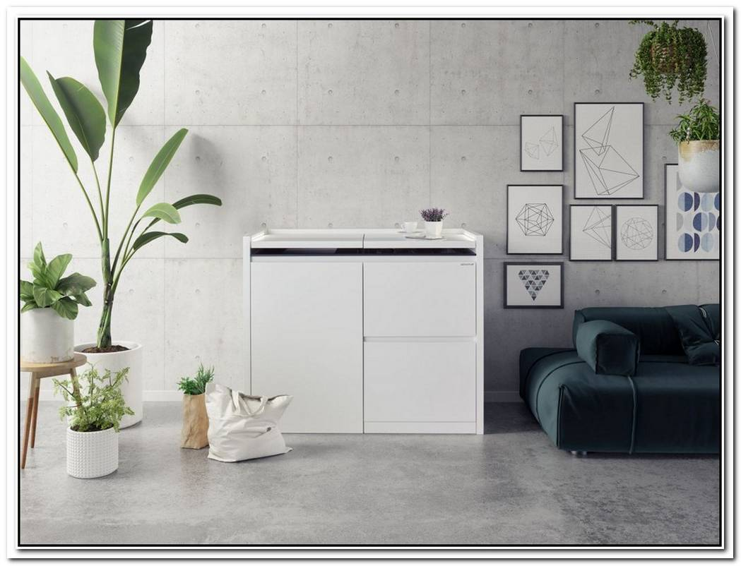 Fascinating Kitchen In A Sideboard By Kitchoo
