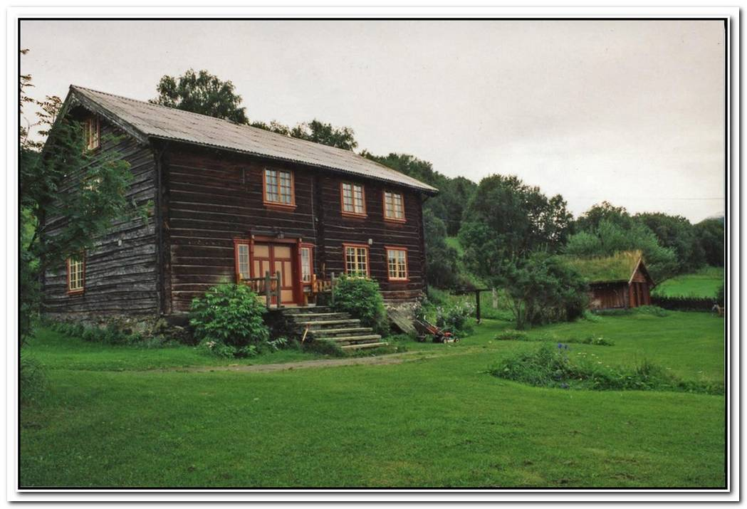 Fashionable Farmhouse Building In Norway