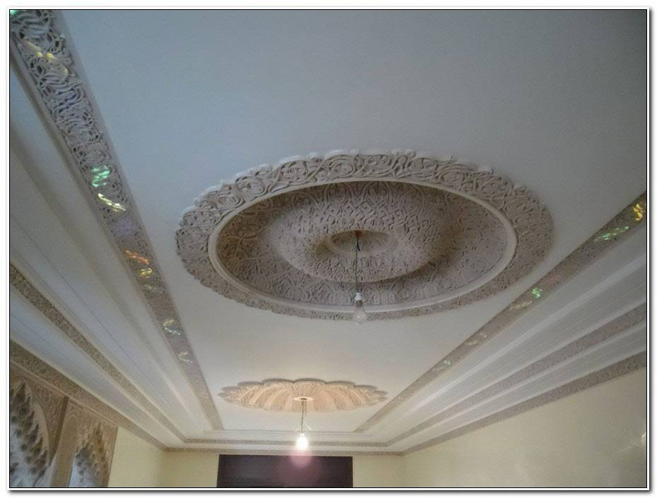 Faux Plafond Salon Tunisie
